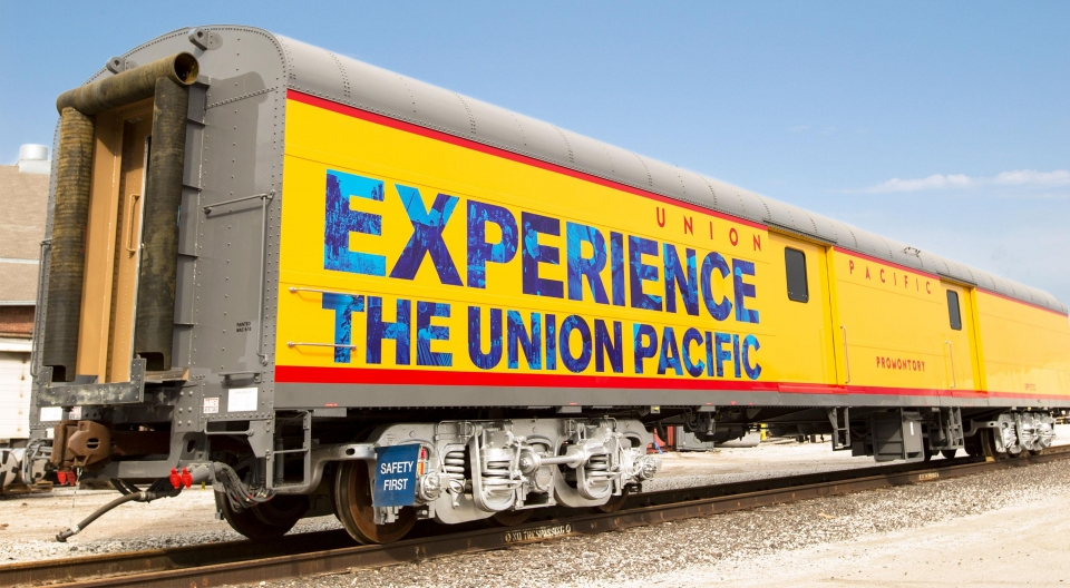 Union Pacific rail car