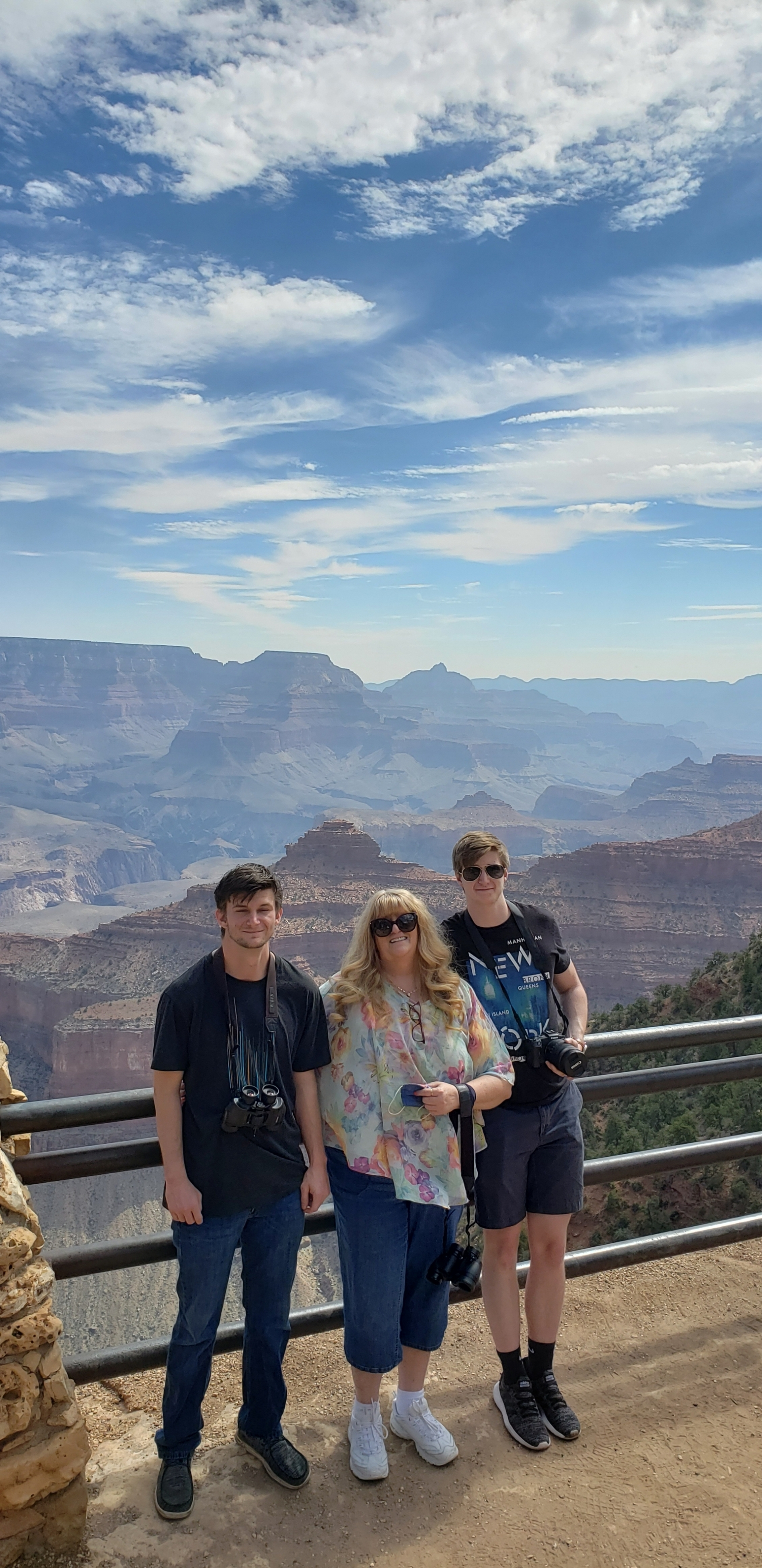 Grand Canyon with my sons