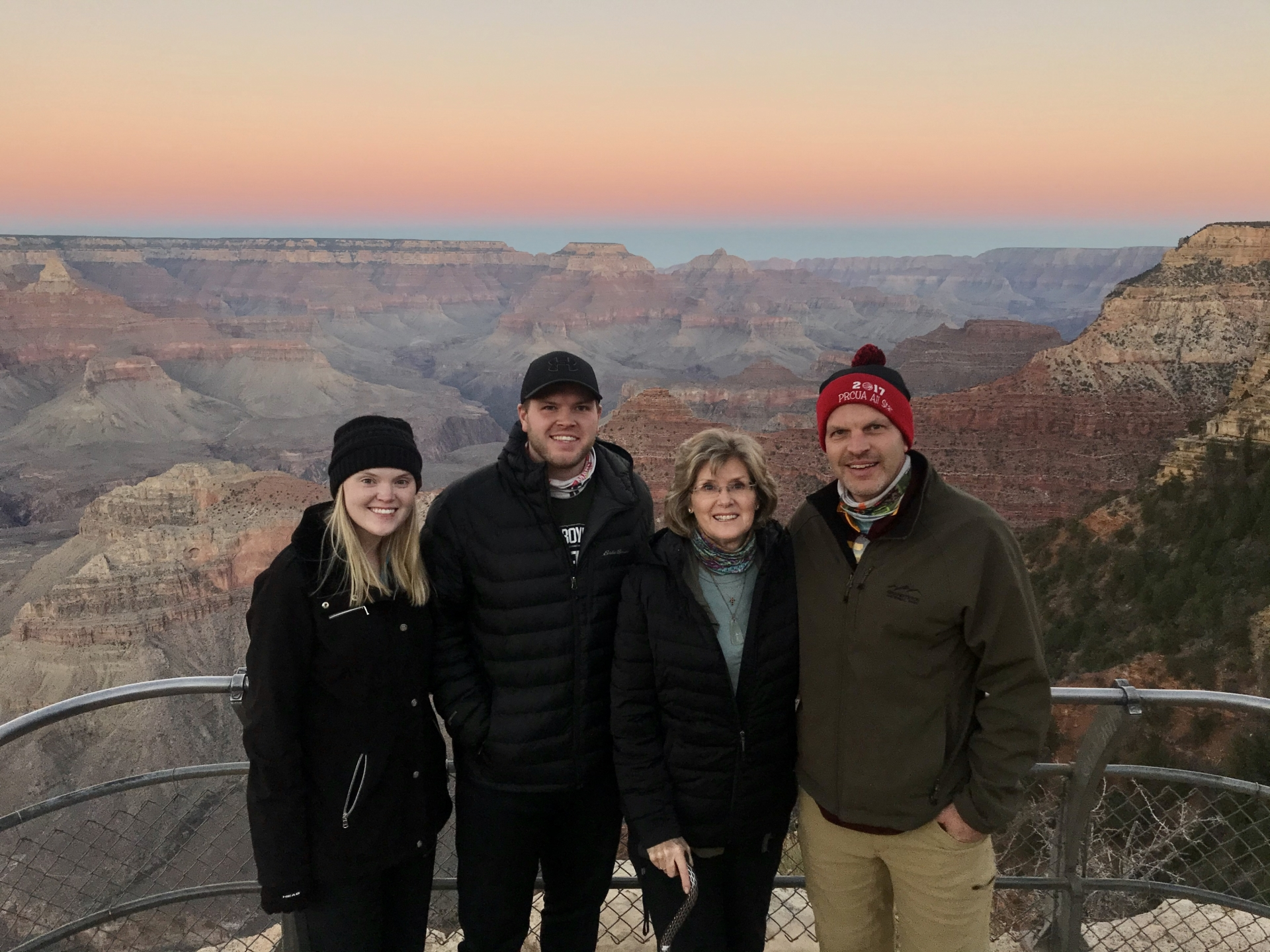 Sunset at Grand Canyon 2020