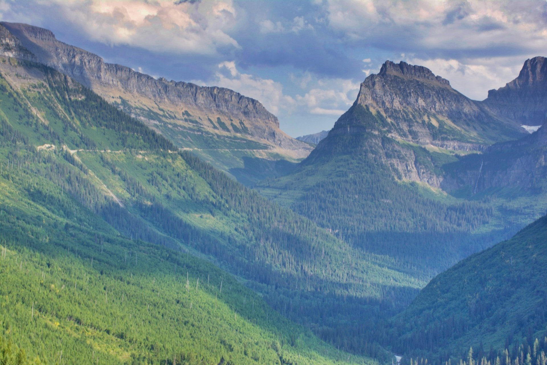 Picture from Glacier National Park.