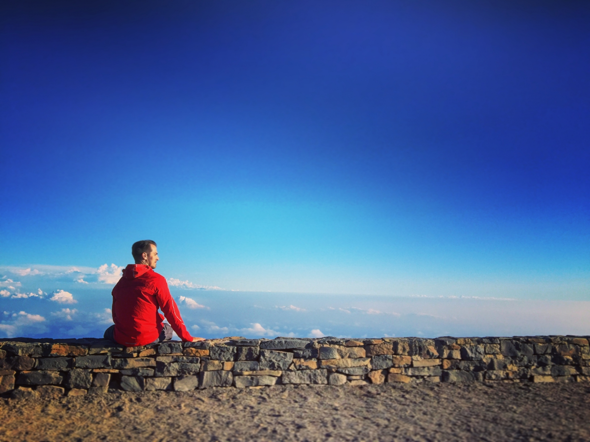 Birthday on Haleakala