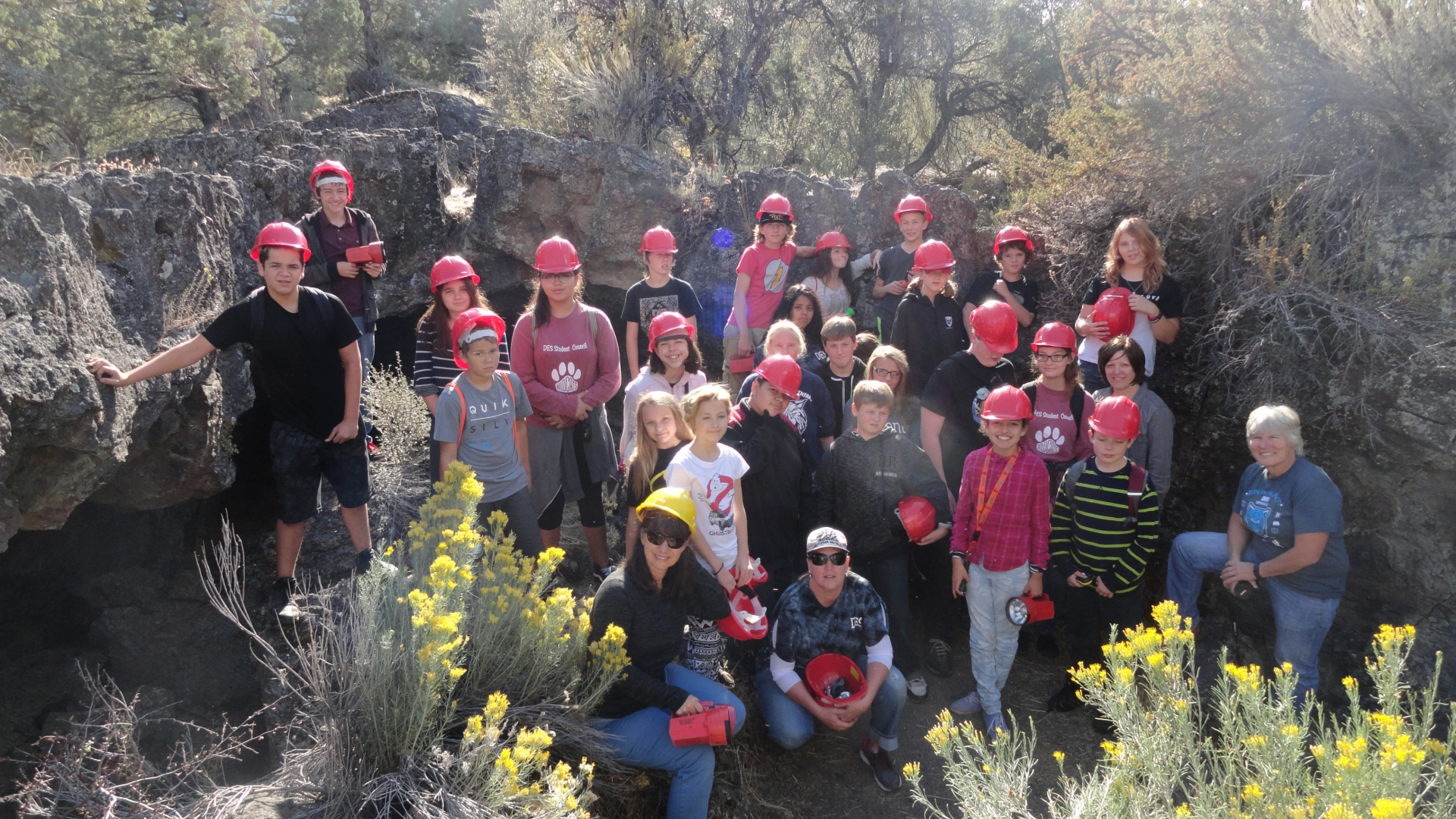Dunsmuir Elementary School Visits Valentine Cave At Lava Beds National  Monument