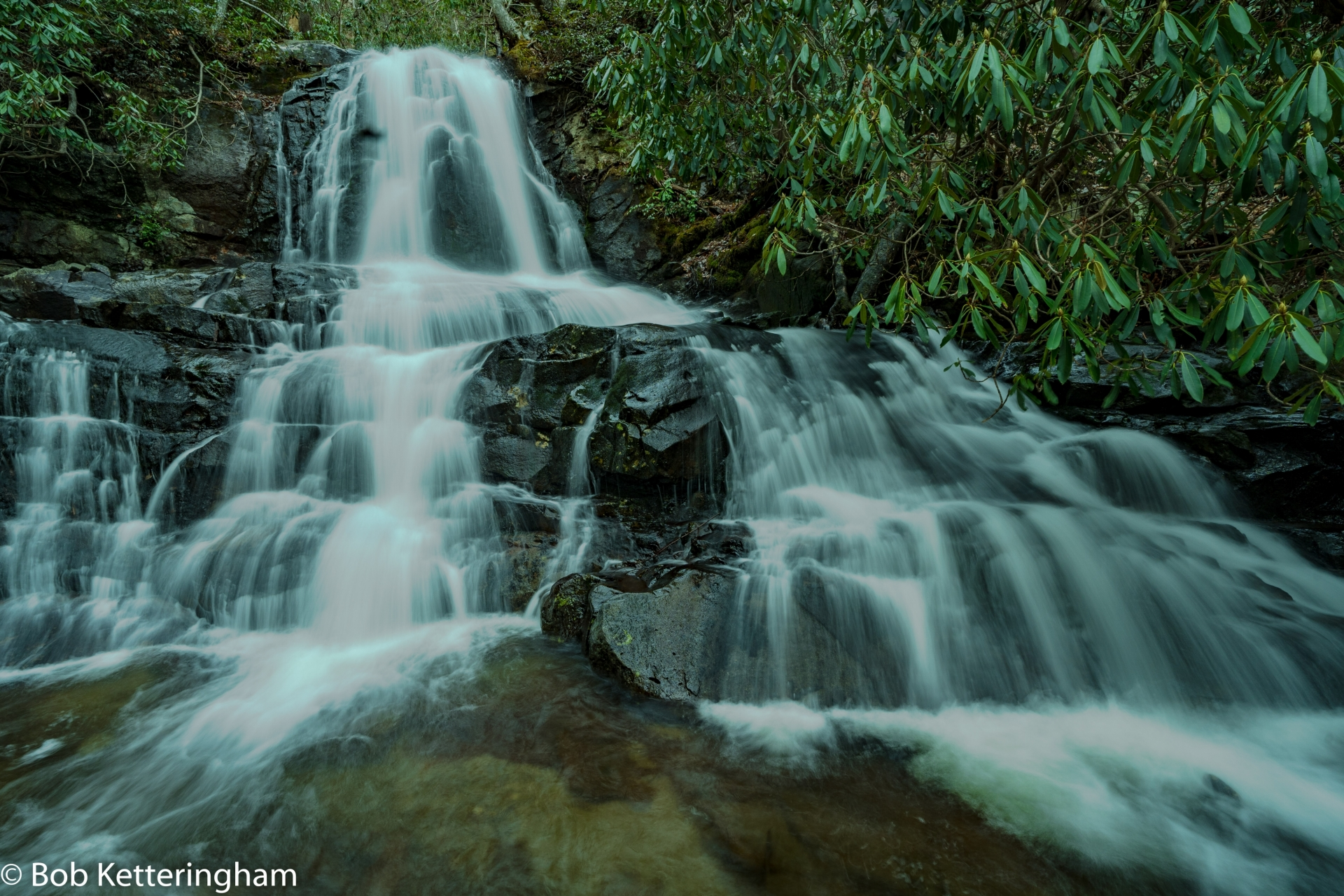 Laurel Falls, Great Smoky Mountains, Tennessee