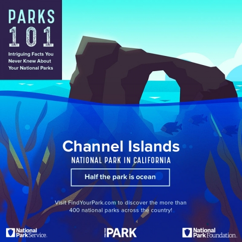 Channel Islands National Park: Half the Park is Ocean