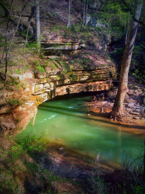 Green River Styx running through Mammoth Caves National Park