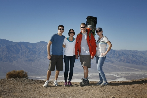 Family at Badwater Basin