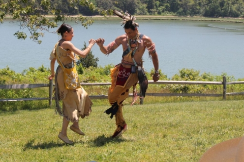 Wampanoag celebration presentation at Cape Cod National Seashore