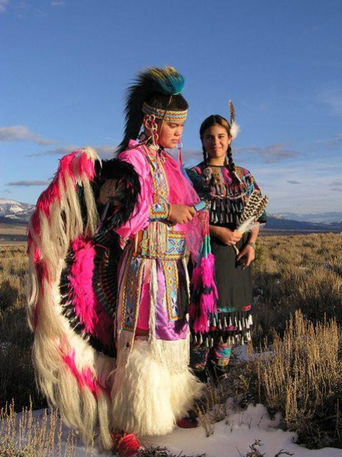 Native Americans at Great Basin
