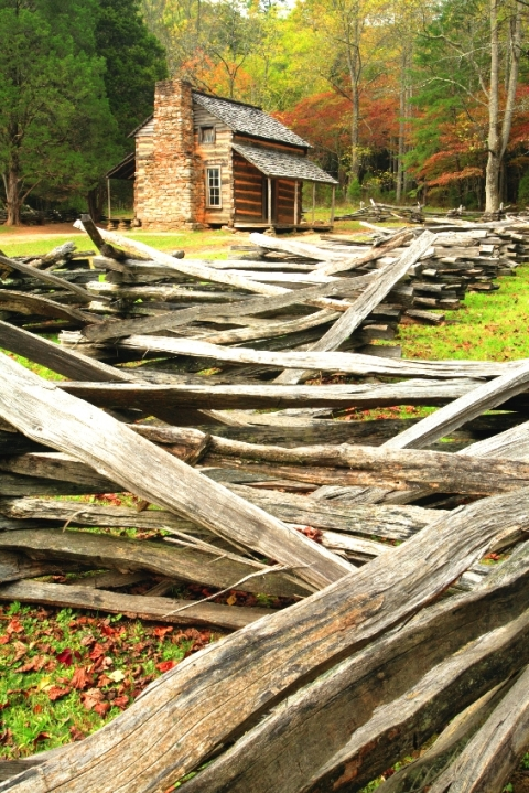 Cabin in Great Smoky Mountains National Park