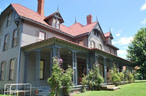 Homes of past president James A. Garfield