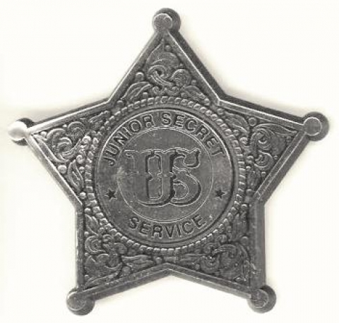 Historic badge from Eisenhower National Historic Site