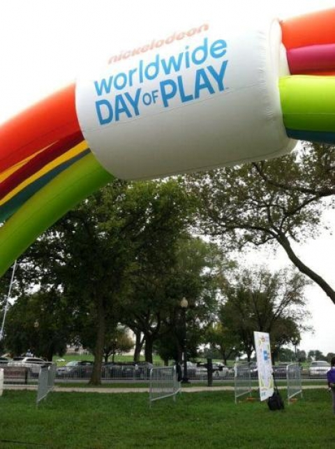 Sign for World Wide Day of Play