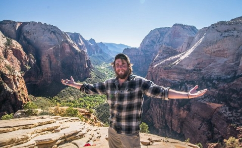 Michael Quine at Zion