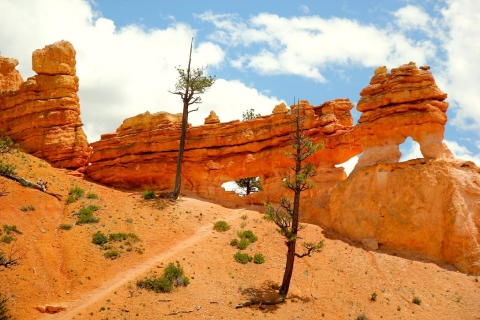 Windows, or arches, at Bryce Canyon National Park