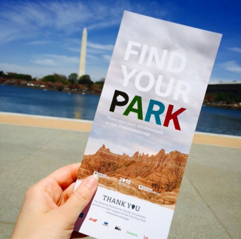Find Your Park Pamphlet