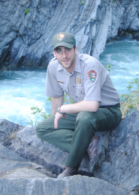 Ranger Dave Reynolds at Olympic National Park