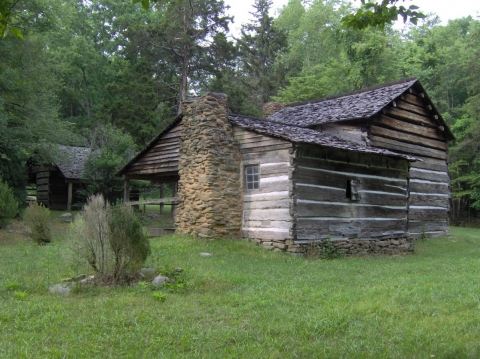 Walker Cabin at Great Smoky Mountains National Park