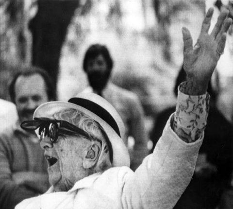 Black and white photo of Marjory Stoneman Douglas
