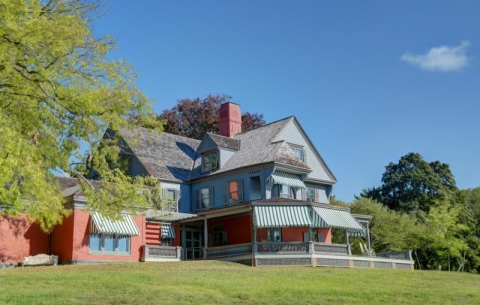 Exterior of Theodore Roosevelt Home at Sagamore Hill National Historic Site