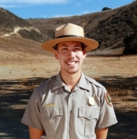 National Park ranger Michael Liang